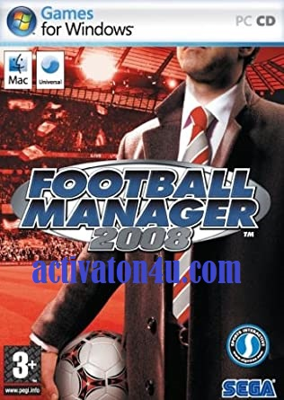 Football Manager 2008 + Crack Full Version Free Download