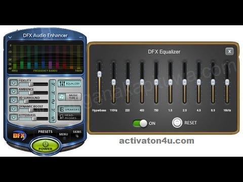 DFX Audio Enhancer 14.1 Crack Latest Version Free Download