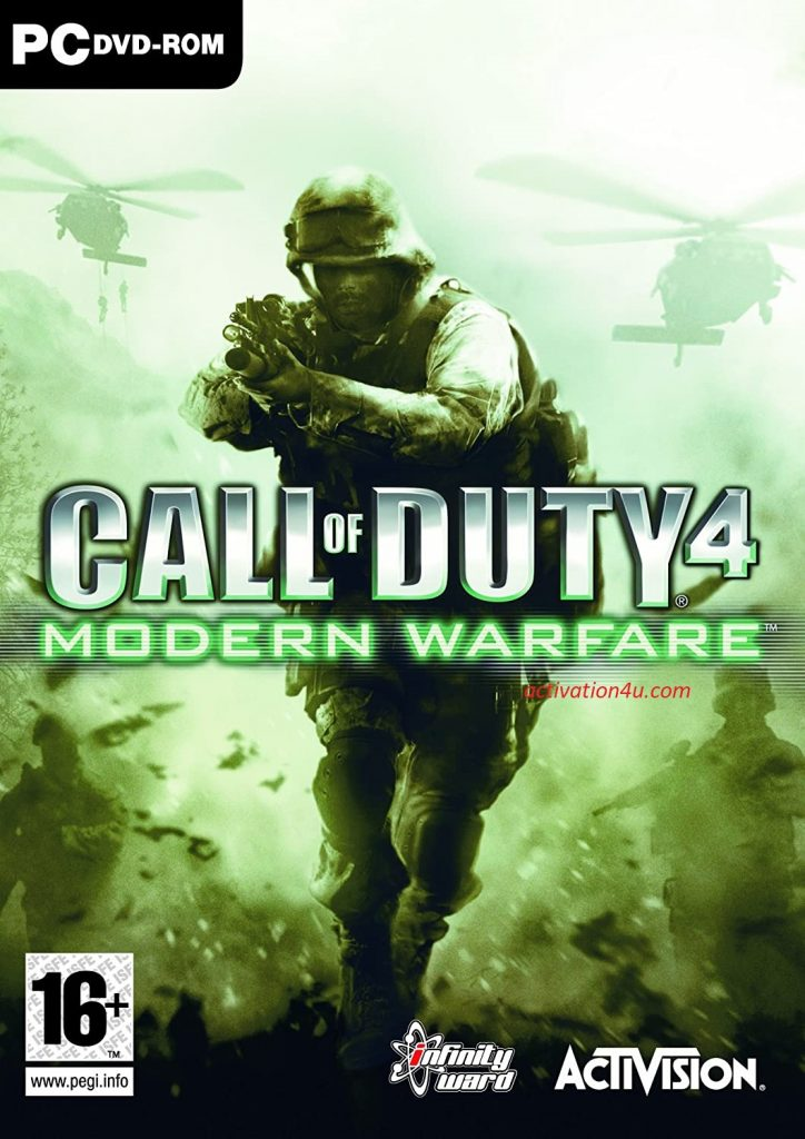 Call Of Duty 4 Multiplayer With Crack Free Download
