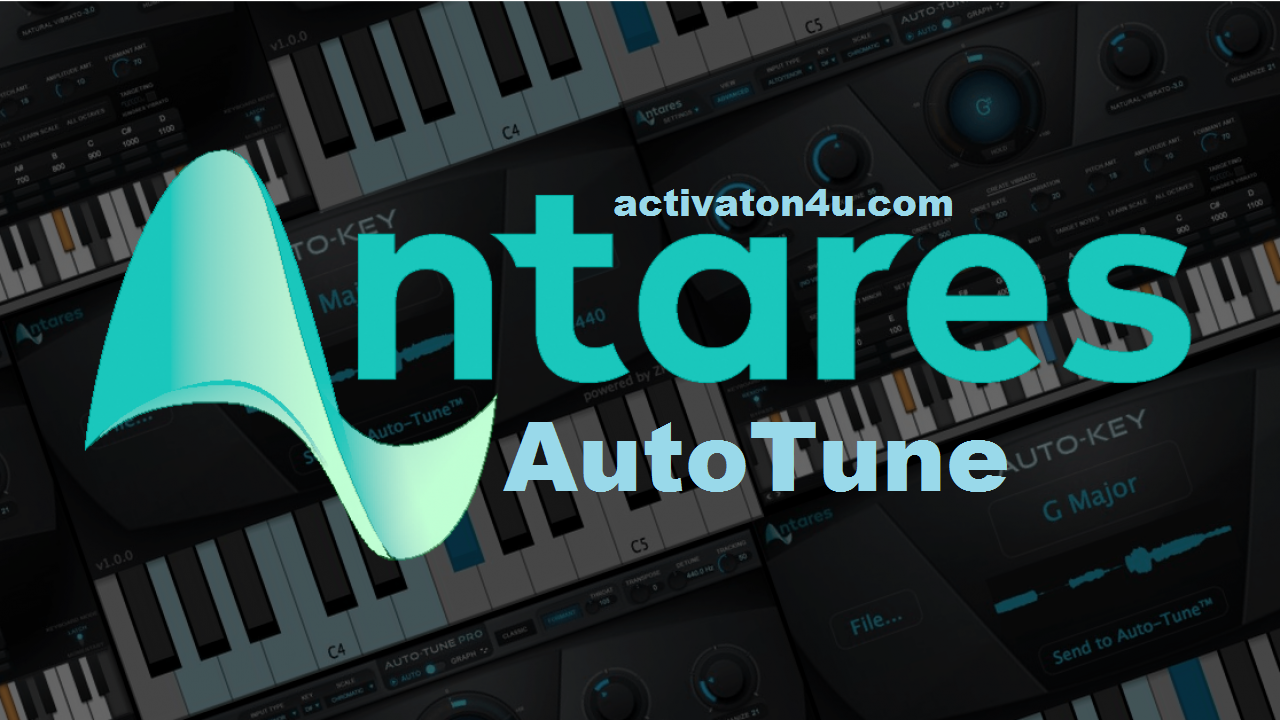 Antares AutoTune 9.1.1 Crack Serial Key Full Version Free Download