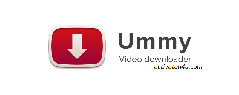 Ummy Video Downloader 1.10.10 Crack Free Download