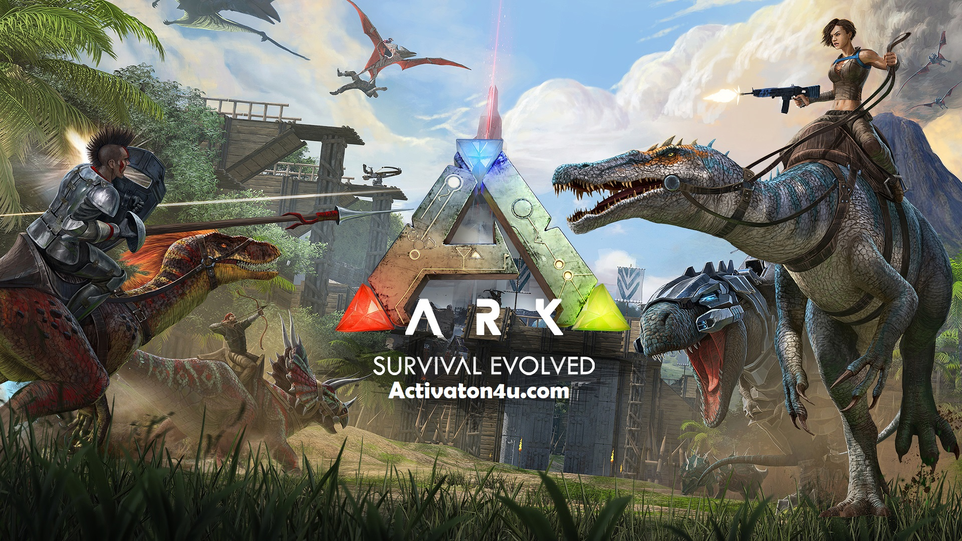 ARK Survival Evolved v236.5 Crack Full Version Free Download