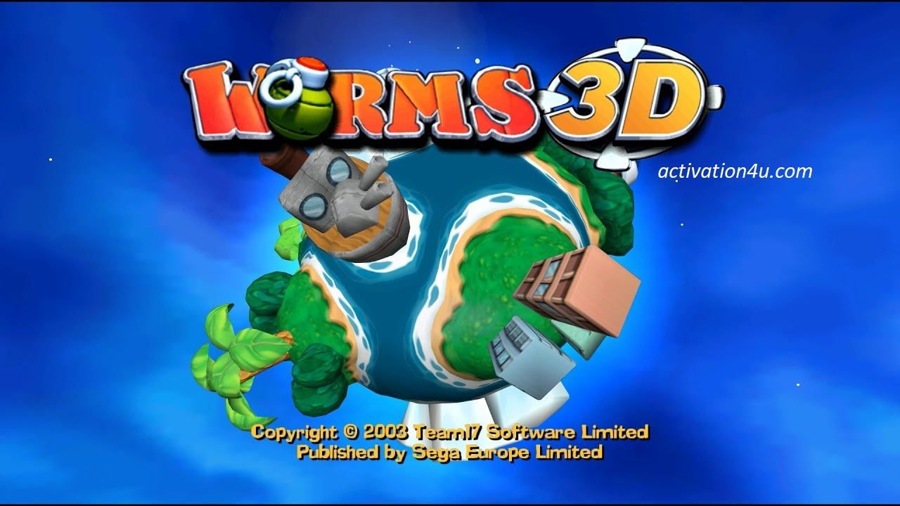 Worms 3D PC Version Crack Complete Version Free Download